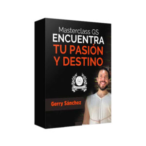 Curso Masterclass Pasión y Destino - Gerry Sánchez