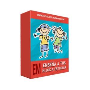 Curso Enseña a Tus Hijos a Estudiar - Escuela de la Memoria