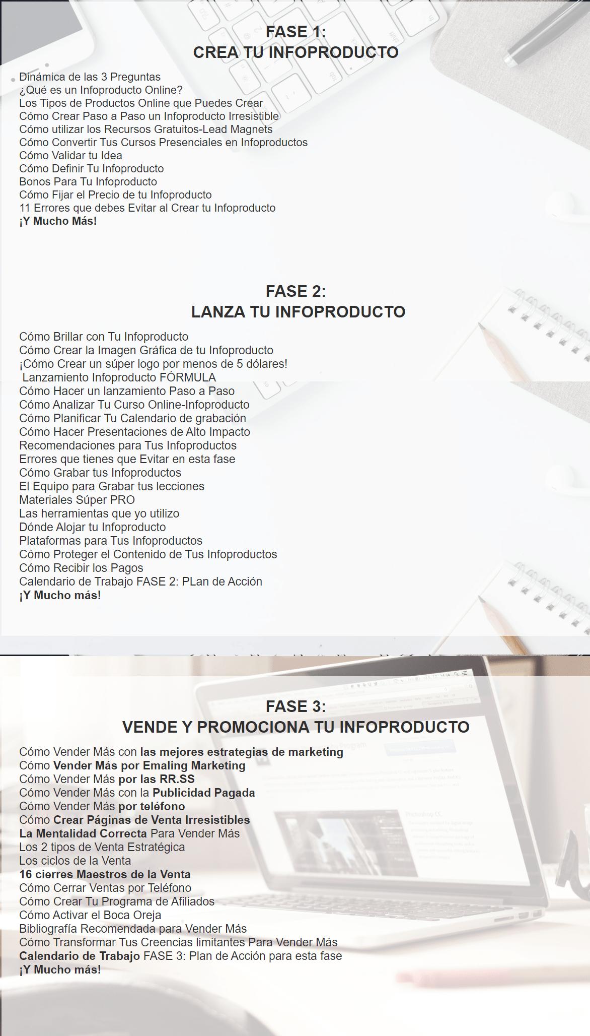 temario tu primer infoproducto marta