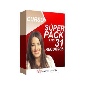 Curso Super PACK de 31 Recursos - Marta Garcia