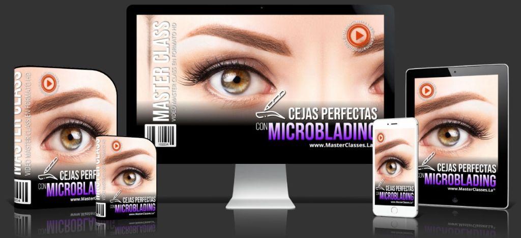 Cejas Perfectas con Microblading - MasterClasses.la