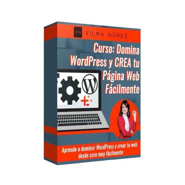 Curso Domina WordPress y Crea Tu Página Web Fácilmente - Vilma Nuñez